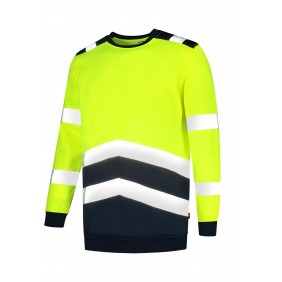 Bluza unisex Sweater High Vis Bicolor
