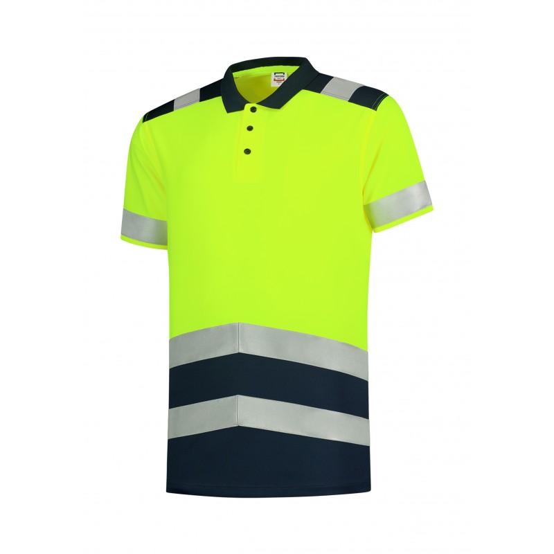 Koszulka polo unisex Poloshirt High Vis Bicolor