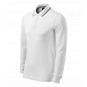 Koszulka polo męska Contrast Stripe LS