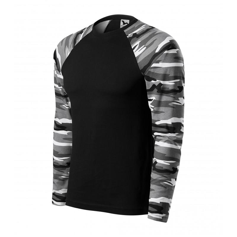 Koszulka unisex Camouflage LS