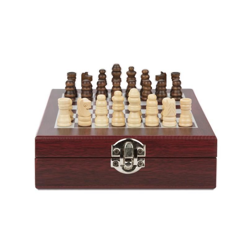 Zestaw do wina z szachami TREBB