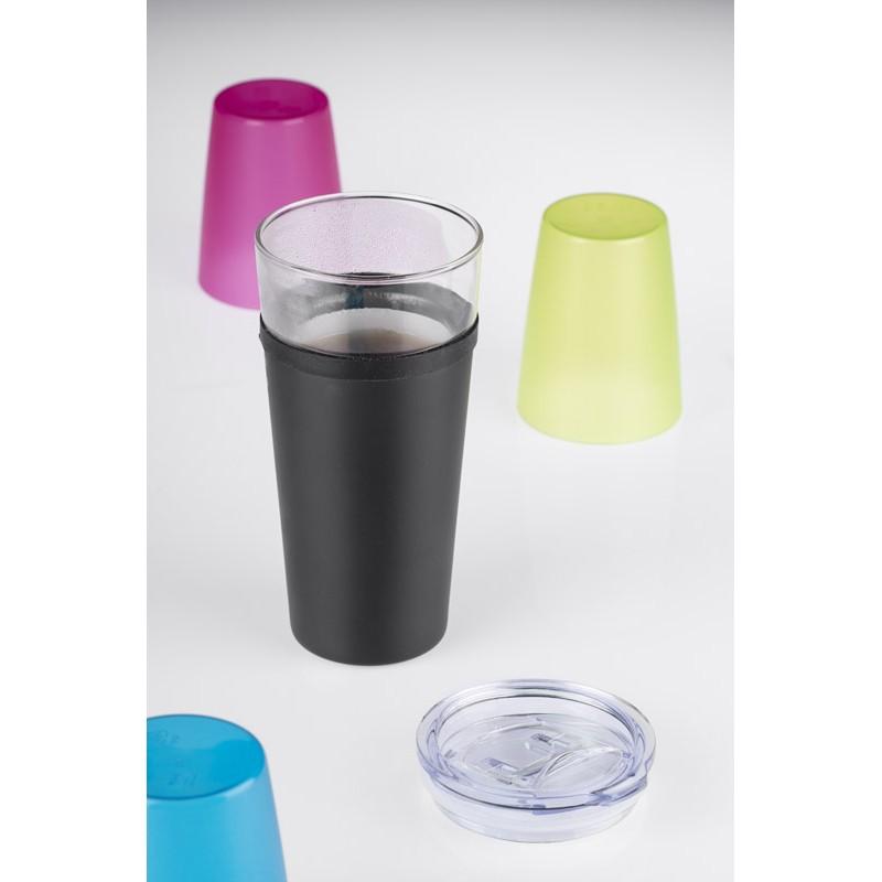 Kubek szklany GLATT 428 ml