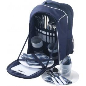 Plecak piknikowy z nakryciem, 25 el. - V6384-04