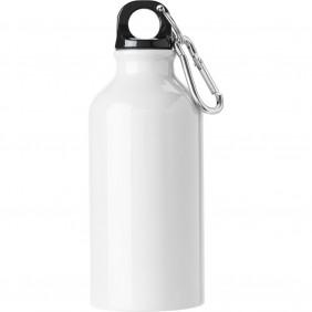Butelka sportowa 400 ml z karabińczykiem - V4659-02