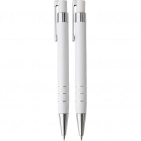 Zestaw piśmienny, ołówek mechaniczny i długopis - V1559-02