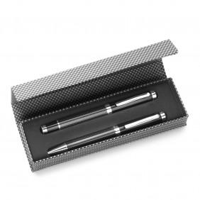 Zestaw piśmienny, długopis i pióro kulkowe - V1066-03