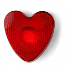 """Klip """"serce"""" z migającym światełkiem - V6463-05"""
