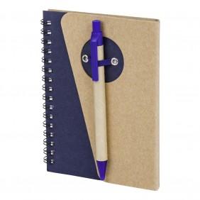 Notatnik ok. A6 z długopisem - V2800-04