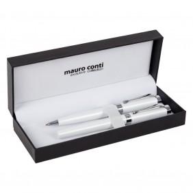 Zestaw piśmienny Mauro Conti, pióro kulkowe i długopis - V4843-02