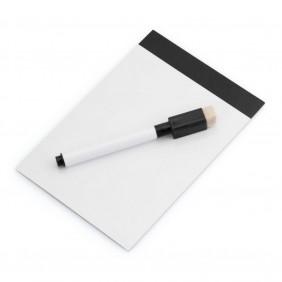 Magnetyczna tablica do pisania, pisak, gumka - V7560-03