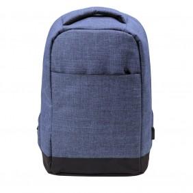 """Plecak chroniący przed kieszonkowcami, przegroda na laptopa 13"""" - V0610-11"""