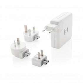 Adapter podróżny, bezprzewodowy power bank 6700 mAh - P820.551