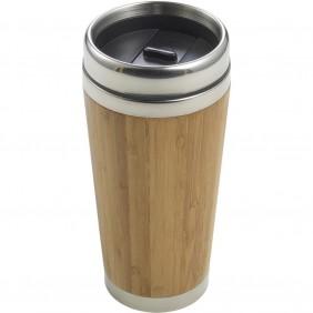 Bambusowy kubek podróżny 400 ml - V0773-18