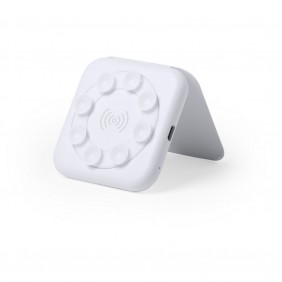 Ładowarka bezprzewodowa 5W z przyssawkami, stojak na telefon - V0307-02
