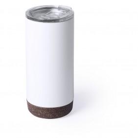 Kubek podróżny 500 ml, korkowy element - V0760-02