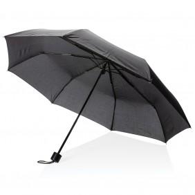 """Parasol manualny 21"""", składany, torba na zakupy - P850.311"""