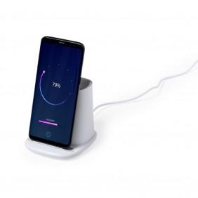 Ładowarka bezprzewodowa 5W, hub USB 2.0, pojemnik na przybory do pisania, stojak na telefon - V0145-02