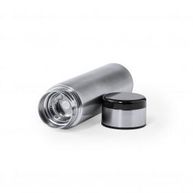 Termos 420 ml, posiada sitko zatrzymujące fusy oraz cyfrowy wyświetlacz temperatury napojów - V0968-32