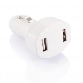 Podwójna ładowarka samochodowa USB - P302.063