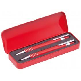Zestaw piśmienny, długopis i ołówek mechaniczny - V1463-05