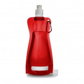 Składana butelka 420 ml z karabińczykiem - V6503-05