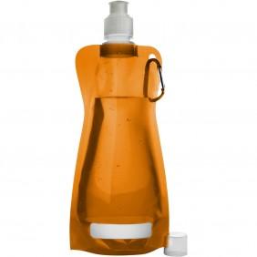 Składana butelka 420 ml z karabińczykiem - V6503-07