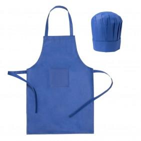 Zestaw kucharza, fartuch kuchenny i czapka kucharska, rozmiar dziecięcy - V9542-11