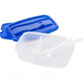 Torba termoizolacyjna, pudełko śniadaniowe 1200 ml, sztućce - V9419-11