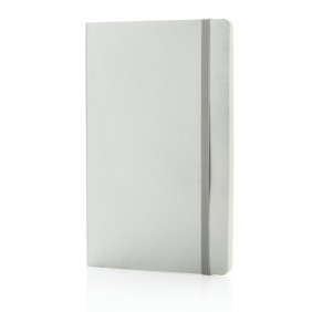 Notatnik A5 Deluxe, miękka metaliczna okładka - P773.492