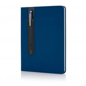 Zestaw upominkowy, notatnik A5 (kartki w linie), długopis - V2717-11