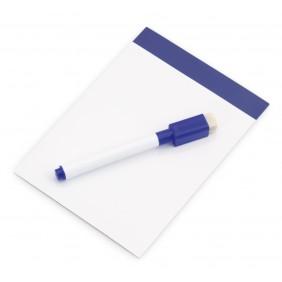 Magnetyczna tablica do pisania, pisak, gumka - V7560-04