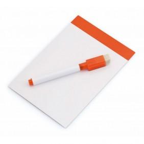 Magnetyczna tablica do pisania, pisak, gumka - V7560-07