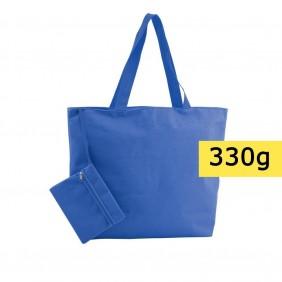 Torba plażowa, na zakupy, kosmetyczka w komplecie - V8612-04