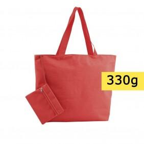 Torba plażowa, na zakupy, kosmetyczka w komplecie - V8612-05