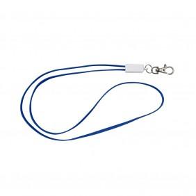 Smycz reklamowa, kabel do ładowania - V3891-11