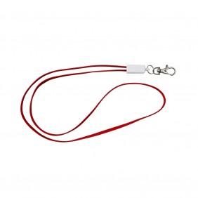 Smycz reklamowa, kabel do ładowania - V3891-05
