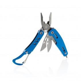Mini narzędzie wielofunkcyjne z karabińczykiem Solid, 7 el. - P221.345