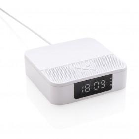 Głośnik bezprzewodowy 2x3W, ładowarka bezprzewodowa 5W - P328.273