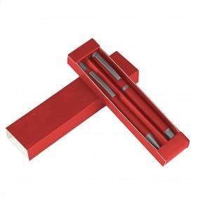 Zestaw piśmienny, długopis i pióro kulkowe - V1957-05