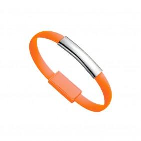 Opaska na rękę, bransoletka, kabel do ładowania i synchronizacji - V0331-07