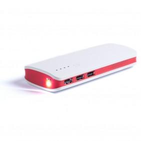 Power bank 10000 mAh, lampka LED - V3856-05