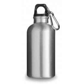 Butelka sportowa 400 ml z karabińczykiem - V4659-32