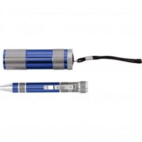 Zestaw narzędzi, latarka LED, śrubokręt wielofunkcyjny - V9767-04
